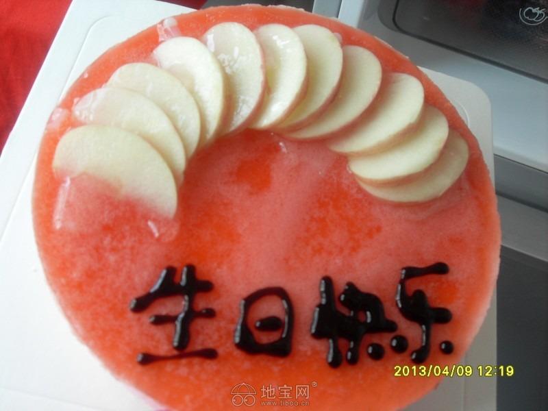 慕斯/给某猪的生日蛋糕~草莓慕斯~