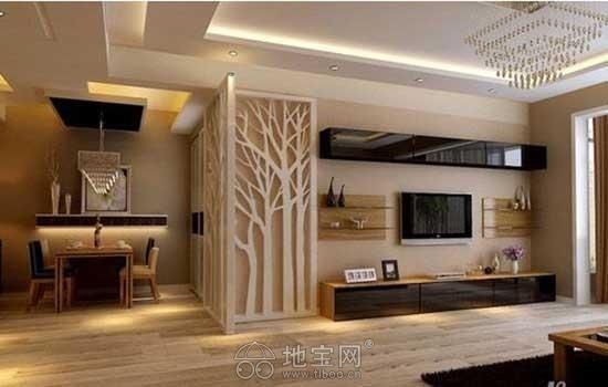 装修客厅背景墙设计图范例